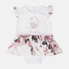 Боди-юбка Garden Baby 19807-03/41 80 см Белый/Розы на молочном (4821980741518)