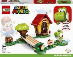 Конструктор LEGO Super Mario Дом Марио и Йоши дополнительный набор 205 деталей (71367)
