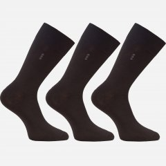 Набор носков Легка Хода 974 45-46 3 пары Черные (ROZ6205085882)