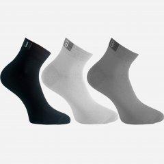 Набор носков Легка Хода 6209 43-44 3 пары Белый/Черный/Серебристый (ROZ6205085964)