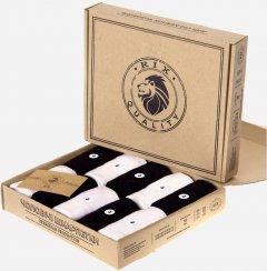 Набор носков RIX MNA31EC121210 низкие 39-42 10 пар Черный/Белый (ROZ6300001756)