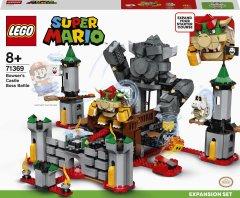Конструктор LEGO Super Mario Решающая битва в замке Боузера дополнительный набор 1010 деталей (71369)