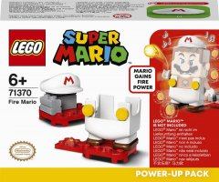 Конструктор LEGO Super Mario Марио-пожарный набор усилений 11 деталей (71370)
