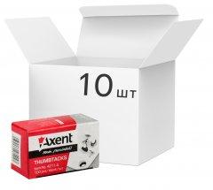 Набор кнопок Axent никелированных 10 пачек по 100 шт (4211-A) (4250266290400)