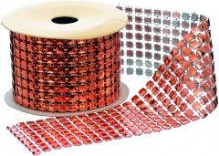Лента декоративная Jumi с пайетками 1 м медный (5900410349353_red)