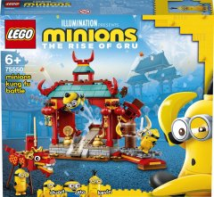 Конструктор LEGO Minions Миньоны: бойцы кунг-фу 310 деталей (75550)