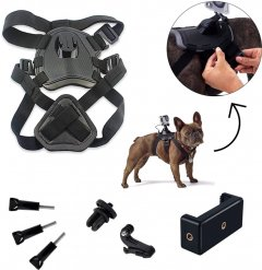 Набор креплений AIRON ACS-3 на собак для экшн-камер AIRON, GoPro, SONY, ACME, Xiaomi, SJCam, EKEN, ThiEYE (69477915500012)