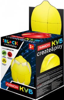 Игрушка iBlock Кубик-логика Лимон (PL-920-49)