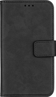 """Чехол-книжка 2Е Silk Touch для смартфона 5.5-6"""" универсальный Smoky Black (2E-UNI-5.5-6-HDST-SBK)"""