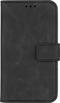 """Чехол-книжка 2Е Silk Touch для смартфона 4.5-5"""" универсальный Smoky Black (2E-UNI-4.5-5-HDST-SBK)"""