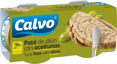 Паштет Calvo из тунца с оливками 75 г х 2 шт (8410090661302)