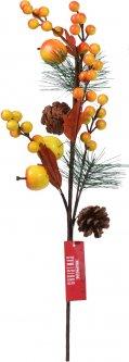 Декоративная ветка Christmas Decoration 49 см (CAA723360_apple)