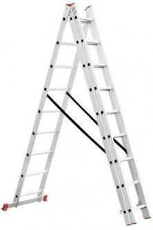 Лестница 3-х секционная Intertool 5.09 м (LT-0308)