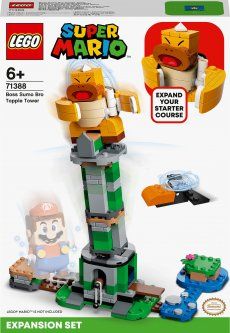 Конструктор LEGO Super Mario Дополнительный набор «Падающая башня босса братца-сумо» 231 деталей (71388)