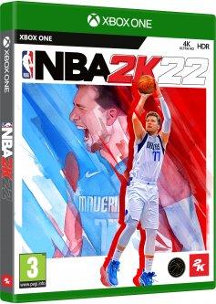 Игра NBA 2K22 для Xbox (Blu-ray диск, English version)