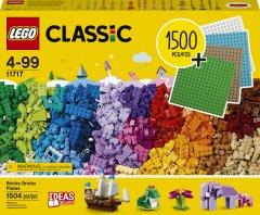 Конструктор LEGO Classic Кубики, кубики, пластины! 1504 деталей (11717)