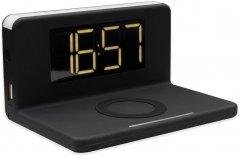 Беспроводное зарядное устройство Ailink Alarm Clock Wireless Charger 3в1 часы будильник лампа Черное (AI-Clock1bk)