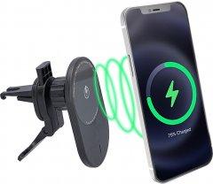 Беспроводное зарядное устройство держатель в авто Ailink MagSafe Auto Wireless Charger (AI-MagAuto1Bk)
