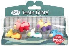 Набор ластиков для карандаша Iwako Коровки 5 шт (ER-GLB004) (4991685001580)