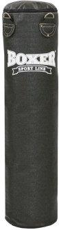 Мешок боксерский Boxer кирза 120 см Черный (1002-02)