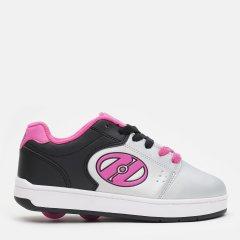 Роликовые кроссовки Heelys Asphalt 2-Wheel 771083 31 18 см Black/Silver/Pink (889642518032)