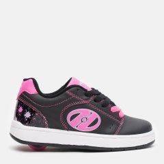 Роликовые кроссовки Heelys Asphalt 1-Wheel HES10198 32 19 см Black/Pink/Splash (889642989603)