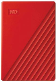 "Жесткий диск Western Digital My Passport 4TB WDBPKJ0040BRD-WESN 2.5"" USB 3.0 External Red"