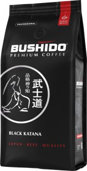 Кофе в зернах Bushido Black Katana 1 кг (5060367340534)