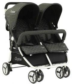 Прогулочная коляска для двойни Babystyle Oyster Twin Pepper (OTWPP)