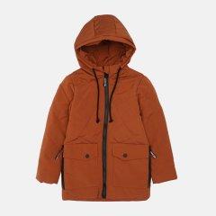 Демисезонная куртка Одягайко 22487 128 см Теракотовая (ROZ6400141821)