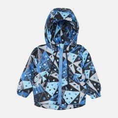 Демисезонная куртка Одягайко 22509 80 см Синяя абстракция (ROZ6400141833)