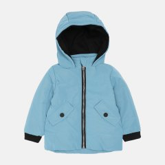 Демисезонная куртка Одягайко 22510 80 см Голубая (ROZ6400141839)