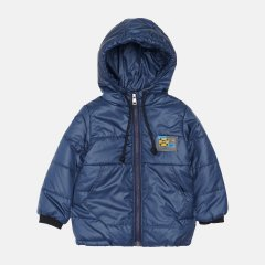 Демисезонная куртка Одягайко 22630 110 см Темно синяя (ROZ6400141859)