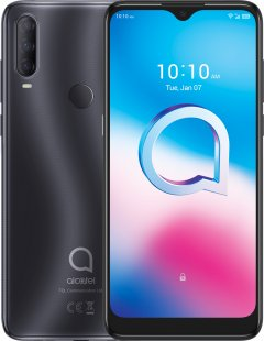 Мобильный телефон Alcatel 3L 2020 Dual SIM 4/64GB Dark Chrome (5029Y-2AALUA12)