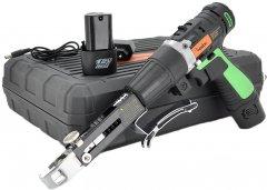 Шуруповерт Merlion с насадкой для шурупов + две батареи DR1220PL