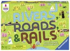 Настольная игра Ravensburger Реки, дороги и рельсы (4005556220533) (22053)
