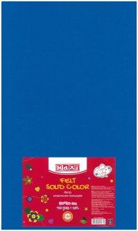 Набор фетра Maxi 50 х 30 см Листового Синего 10 шт (MX61623-02)