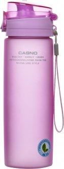 Бутылка для воды Casno KXN-1157 Tritan 650 мл Фиолетовая (KXN-1157_Purple_Tritan)