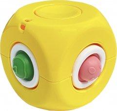 Игрушка антистресс Simple Dimple Спиннер Куб Желтая (2000992409360)