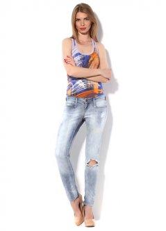 Джинси(3347.113) Pink Woman 3347.113 Світло-блакитний 36