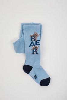 Колготки Pompea Kids Sogno 86-92 см Блакитні