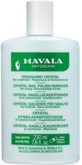 Эко-жидкость для снятия лака Mavala Nail Polish Remover Crystal профессиональная 230 мл (7618900926509)