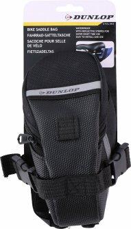 Сумка велосипедная Dunlop Saddle Bag 17х7.5х9 см Black (871125202726-1 black)