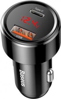 Автомобильное зарядное устройство Baseus Magic Series Black (CCMLC20C-01)