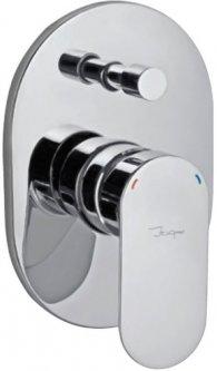 Верхняя часть смесителя для ванны JAQUAR Opal Prime OPP-CHR-15065KPM