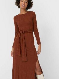 Платье Stradivarius 6372/594/441 L Шоколадное (SZ06372594441045)