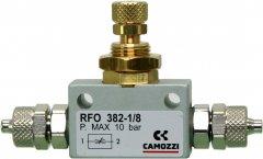 Регулятор подачи CO2 Camozzi RFO 382 4/6 мм (RFO-382-set)
