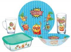 Детский набор столовой посуды Luminarc Vitamin Power из 5 предметов (P7869)