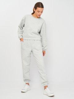 Спортивный костюм Puma Loungewear Suit 84585504 S Light Gray Heather (4063699227192)