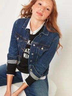Куртка джинсовая Old Navy 369738021 M Синяя (1159754496)